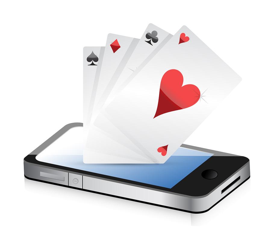 bigstock Smartphone Gambling Poker Ac 43051204 Pokertopplista
